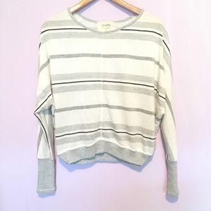Anthropologie Puella Caleta Stripe Knit Pullover S